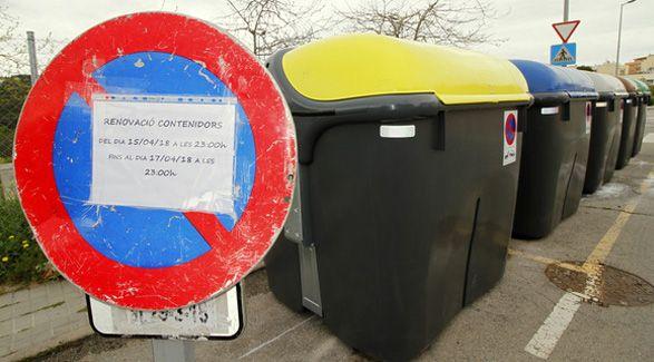 contenedores recogida selectiva Blanes