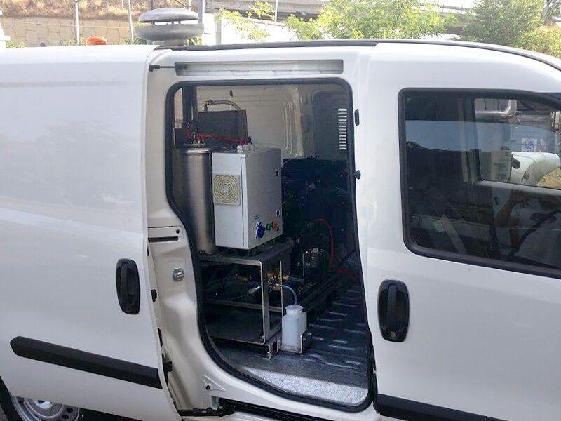 vehiculo electrico limpieza viaria